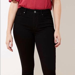 🖤 LOFT Curvy High Waist Skinny Jeans In Black 🖤